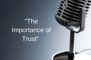 Episode 22: The importance of trust