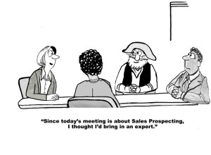 The importance of prospecting