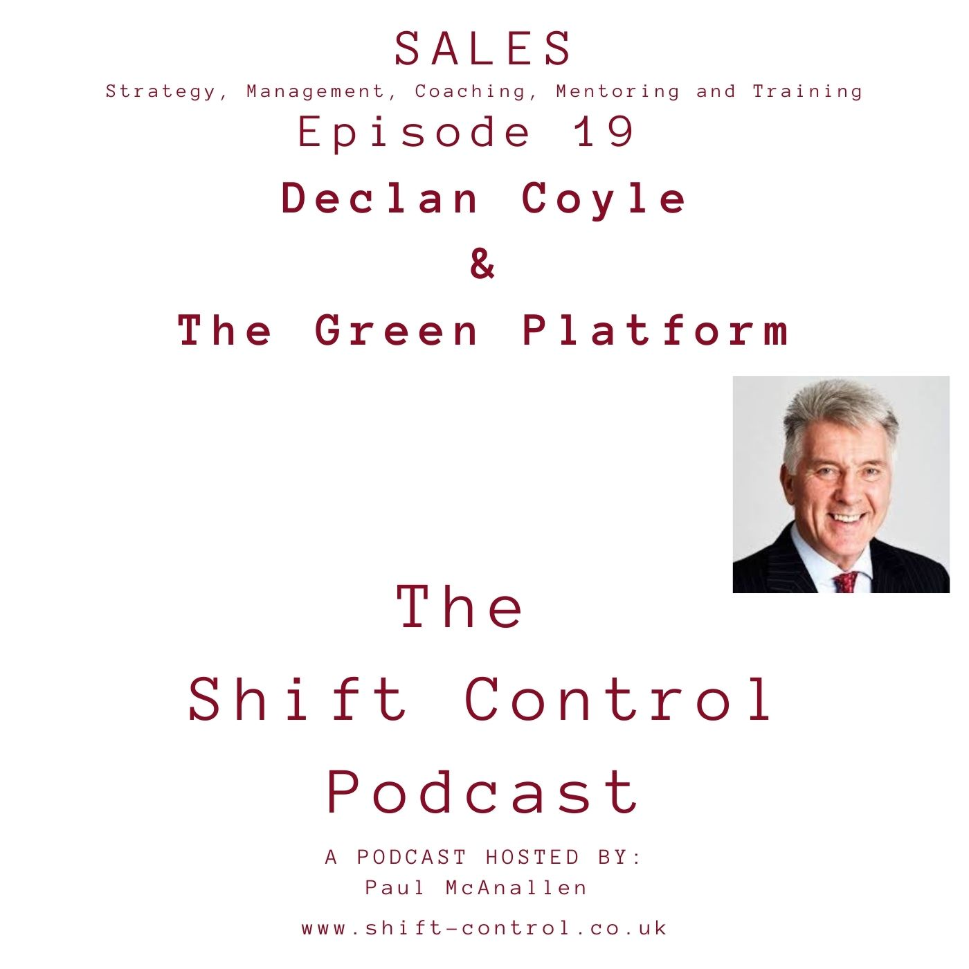 Episode 19: Declan Coyle and The Green Platform